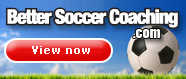 Better Soccer Coaching website