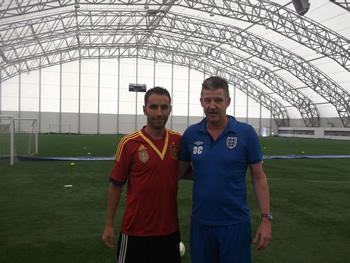 Dave Clarke with Manuel Ojalvo